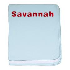 Savannah Santa Fur baby blanket