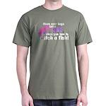 Move Over Boys - Fish Dark T-Shirt