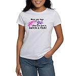Move Over Boys - Fish Women's T-Shirt