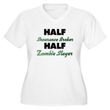 Half Insurance Broker Half Zombie Slayer Plus Size