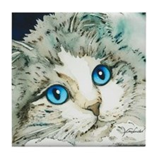 Ragdoll Cat Michelle by Lori Alexande Tile Coaster