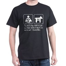 Book man's best friend Groucho Marx T-Shirt