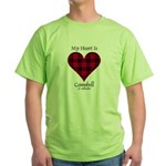 Heart - Campbell of Ardmaddie Green T-Shirt