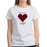 Heart - Campbell of Ardmaddie Women's T-Shirt
