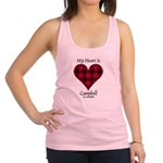 Heart - Campbell of Ardmaddie Racerback Tank Top