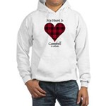 Heart - Campbell of Ardmaddie Hooded Sweatshirt