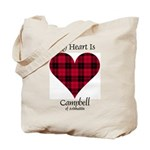 Heart - Campbell of Ardmaddie Tote Bag