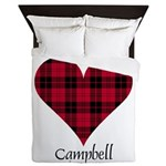 Heart - Campbell of Ardmaddie Queen Duvet