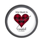 Heart - Campbell of Ardmaddie Wall Clock