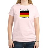 Germany Women's Pink T-Shirt