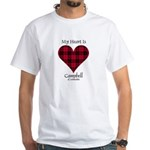 Heart - Campbell of Ardmaddie White T-Shirt