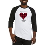 Heart - Campbell of Ardmaddie Baseball Jersey