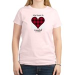 Heart - Campbell of Ardmaddie Women's Light T-Shir