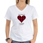 Heart - Campbell of Ardmaddie Women's V-Neck T-Shi