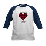 Heart - Campbell of Ardmaddie Kids Baseball Jersey