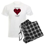 Heart - Campbell of Ardmaddie Men's Light Pajamas
