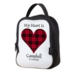 Heart - Campbell of Ardmaddie Neoprene Lunch Bag