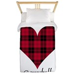 Heart - Campbell of Ardmaddie Twin Duvet