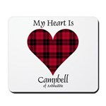 Heart - Campbell of Ardmaddie Mousepad