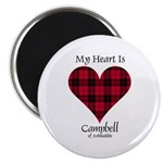 Heart - Campbell of Ardmaddie Magnet