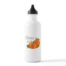 Happy Fall Y'all Water Bottle