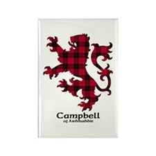 Lion - Campbell of Ardmaddie Rectangle Magnet