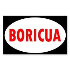 BORICUA ... Rectangle Decal