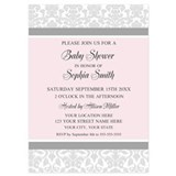 Baby shower invitations 5 x 7 Flat Cards