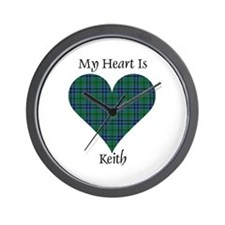 Heart - Keith Wall Clock