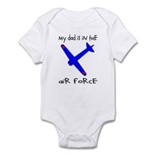 My Dad is in the Air Force Infant Bodysuit