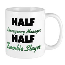 Half Emergency Manager Half Zombie Slayer Mugs