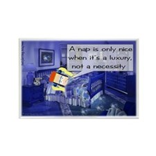 Nap Comic Strip Rectangle Magnet (100 pack)