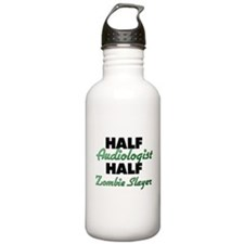 Half Audiologist Half Zombie Slayer Water Bottle