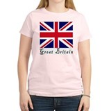 Great Britain Women's Pink T-Shirt