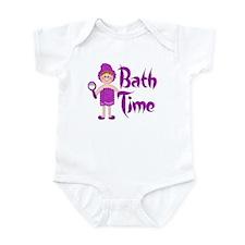 Bath Time - Girl Infant Bodysuit