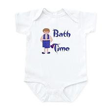 Bath Time - Boy Infant Bodysuit