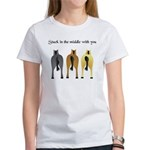 STUCK IN THE MIDDLE WITH YOU Women's T-Shirt