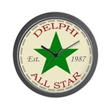 All Star Wall Clock