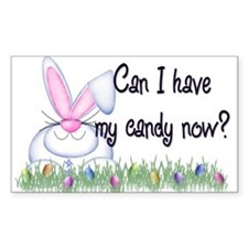 Easter Candy Rectangle Decal