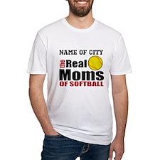 Personalize Softball Mom Shirt