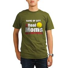 Personalize Softball Mom T-Shirt