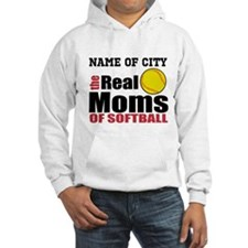Personalize Softball Mom Hoodie