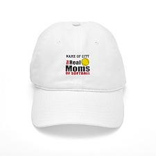 Personalize Softball Mom Baseball Cap