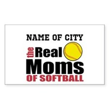 Personalize Softball Mom Decal