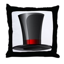 Magician Top Hat   Throw Pillow