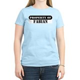 Property of Fabian Women's Pink T-Shirt