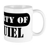 Property of Ezequiel Small Mugs