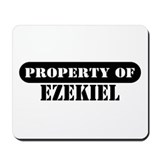 Property of Ezekiel Mousepad