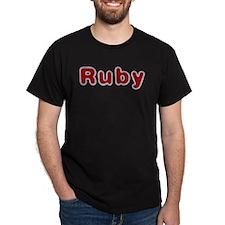 Ruby Santa Fur T-Shirt