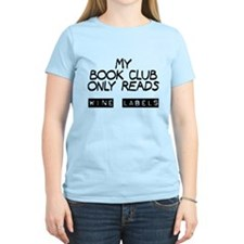 My book club reads wine labels T-Shirt